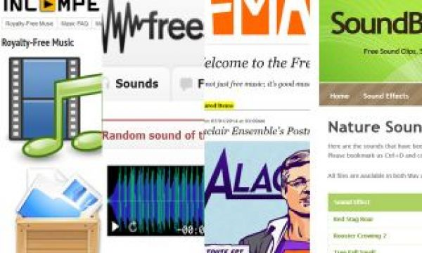 More Sources of FREE Music and Sounds