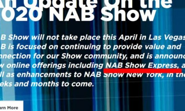 NAB Show Express comes in April