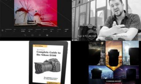Fujifilm X-T2 gets F-Log,  Lightroom Mobile gets RAW