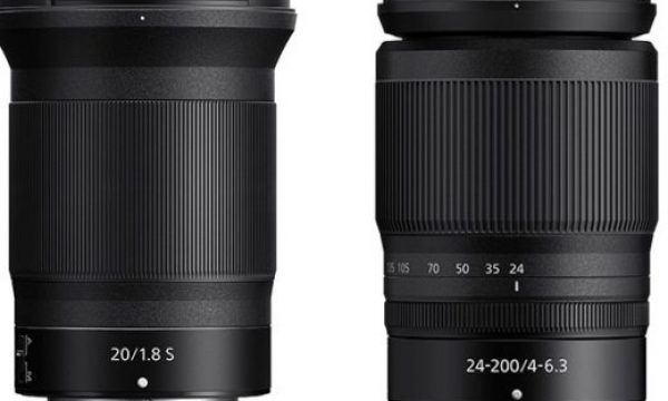 Nikon: new 24-200 and 20mm NIKKOR Z lenses for photography and video