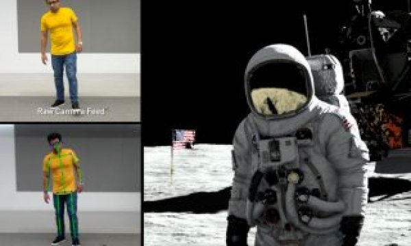 Motion capture at SIGGRAPH 2019: go to the Moon with NVIDIA's RTX demo