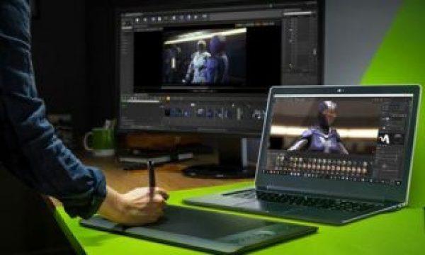 NVIDIA announces 17 new RTX Studio laptops for video editing