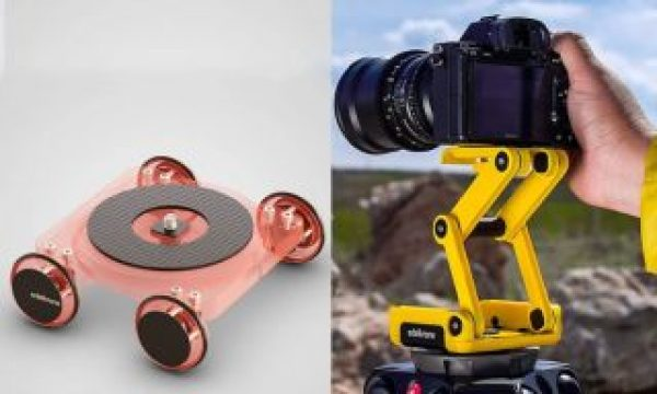 ORTAK Skate 3D: 3D print your own tabletop dolly and tripod head