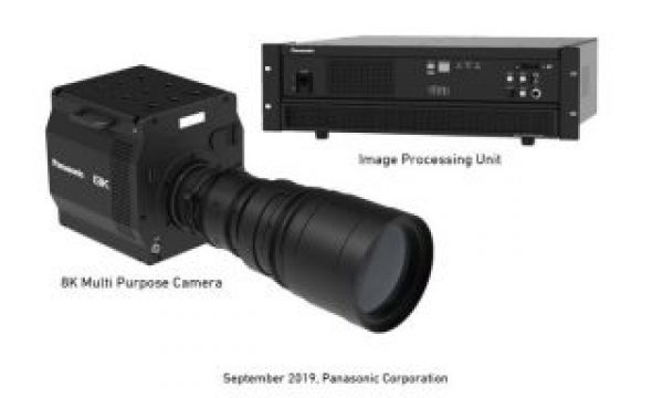 IBC 2019: Panasonic shows camera with world's first 8K organic sensor