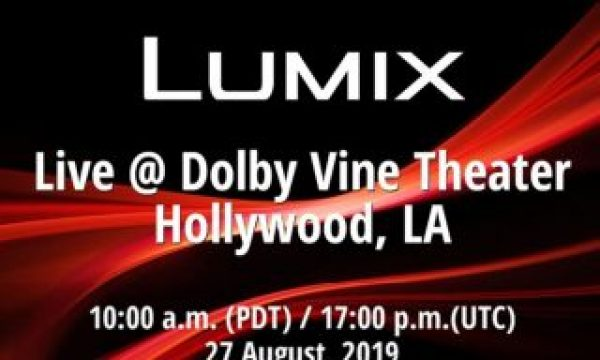 Panasonic LUMIX S1H videocentric camera: live announcement today