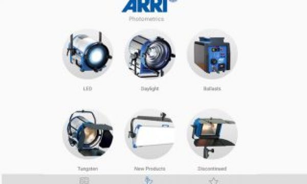 Photometrics: all the information about ARRI products inside a smartphone