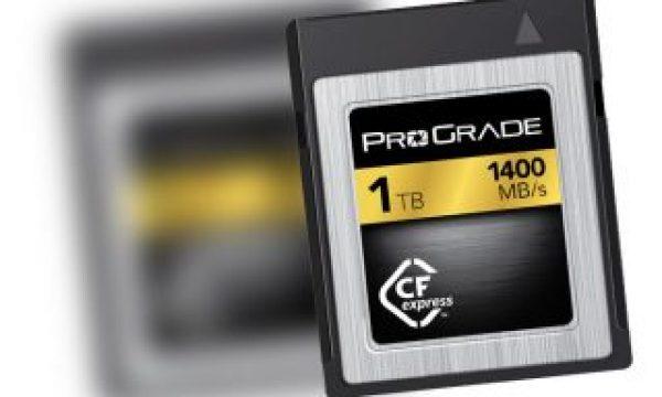 ProGrade Digital CFexpress 1TB memory card speeds up to 1400MB/s