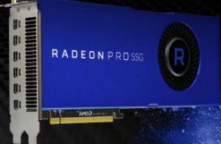 AMD Radeon Pro SSG graphics accelerates 4K and 8K workflows