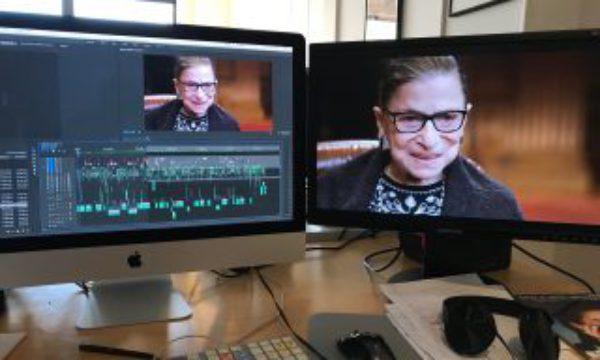 "Editor Carla Gutierrez on crafting ""RBG"""