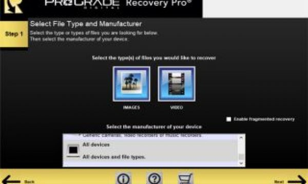 Restore photo and motion files with the new Recovery Pro software