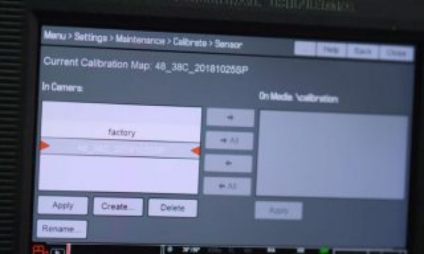 RED Tech explains how to use Black Shade Calibration to reduce noise