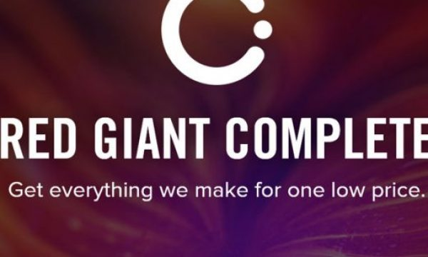 Red Giant Complete is now completely FREE for educational use