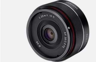 Samyang introduces third AF lens