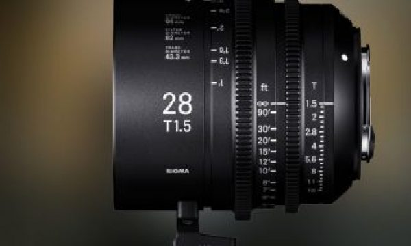 The new Sigma 28mm T1.5 Full-Frame Cine Lens will be available in March
