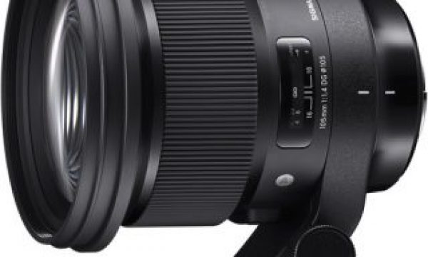 NAB 2018: Sigma Shows Off 105mm f1.4 and 70mm Macro.