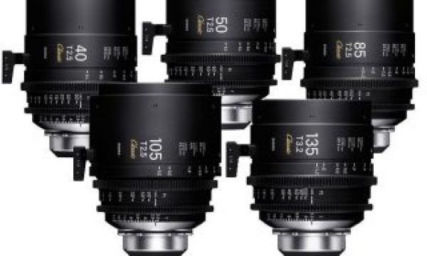 "SIGMA shows at IBC 2019 the new ""Classic Prime Line"" Cinema lenses"