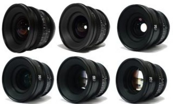 SLR Magic: seven MicroPrime Cine lenses available now for Fujifilm X cameras