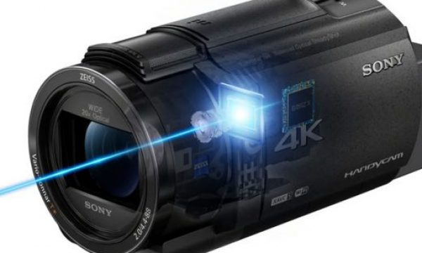 Sony FDR-AX43/B: a new camcorder for content creators and vloggers