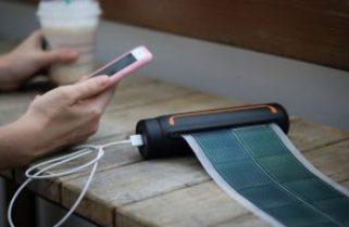 SOUL Solar Scroll: portable energy for smartphone filmmakers