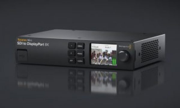 Blackmagic Announces New Teranex Mini SDI to DisplayPort 8K HDR