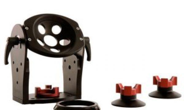ShooTools Tilt Hi Hat: universal half ball head adapter with 180° rotation