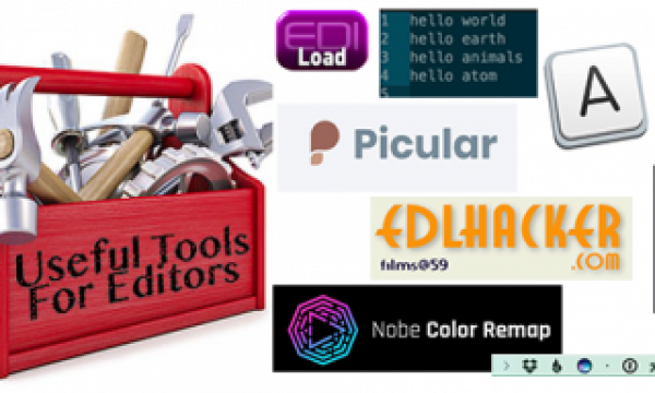 Useful Tools for Editors – After Thanksgiving Edition