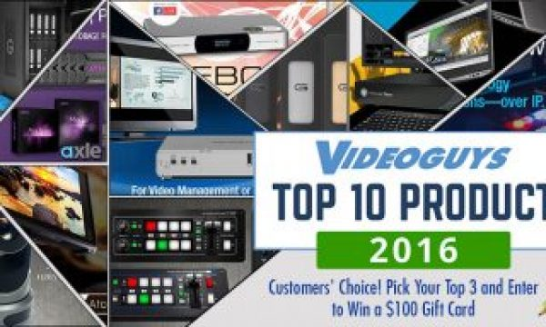 Top 10 Products of 2016