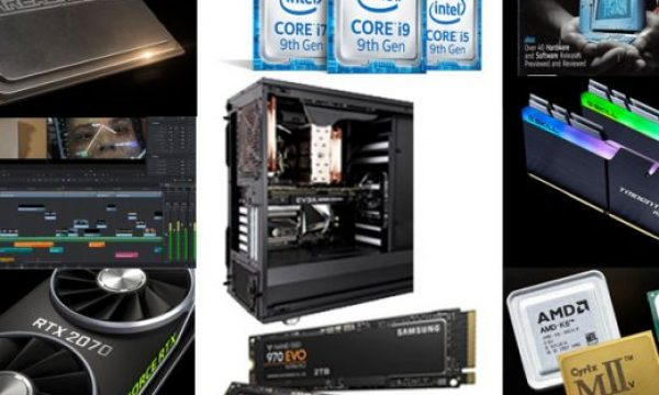 Building a photo and video editing DREAM MACHINE for 2019