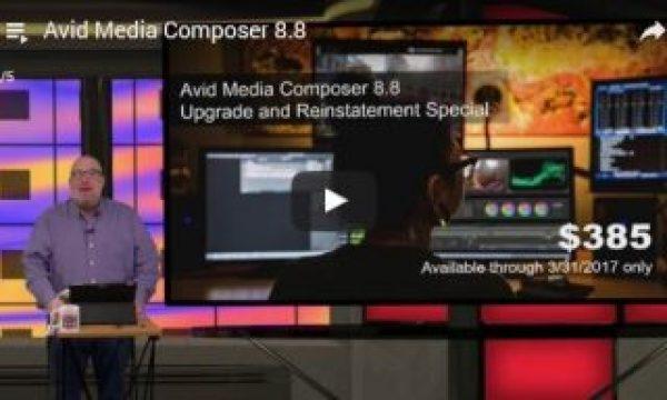 Videoguys' Video Brief on Avid Media Composer v.8.8
