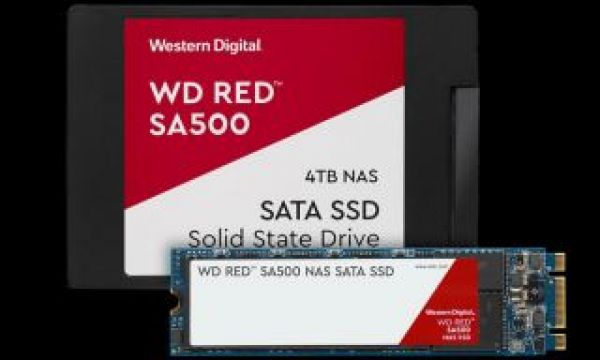 WD Red SA500 SSD: a new SSD, designed for NAS and 4K and 8K video editing