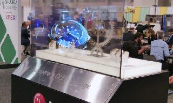 NAB 2019: Transparent OLED Display