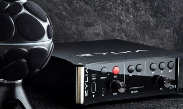 ZYLIA ZR-1: a new portable recorder for 360-degree sound recording