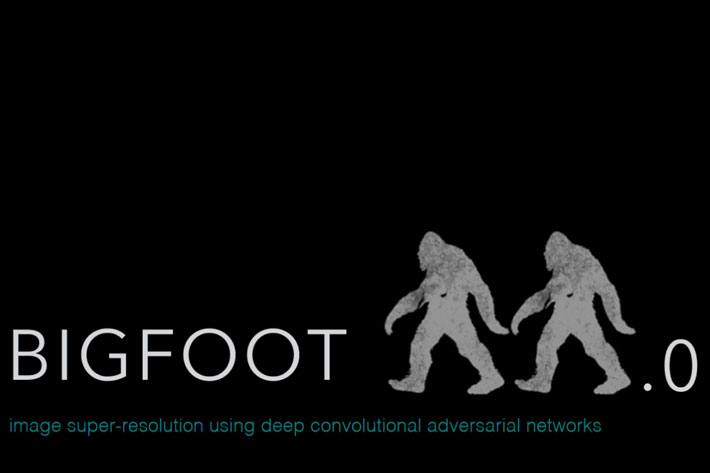 Bigfoot super resolution converts films from native 480p to 4K