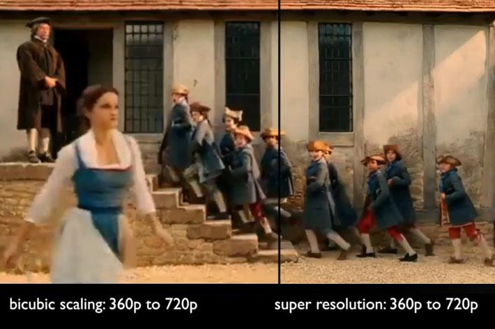 VideoGorillas' Bigfoot super resolution converts films from native 480p to 4K 11