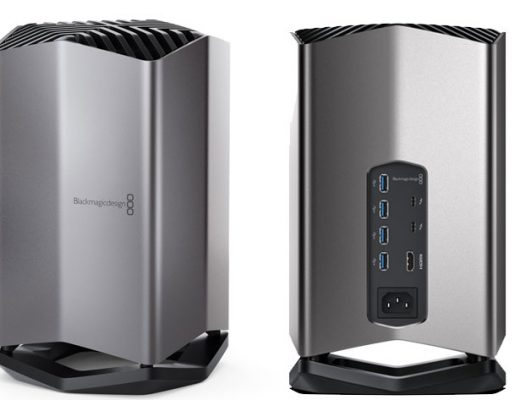 Blackmagic eGPU, a graphics processor for MacBook Pro creatives