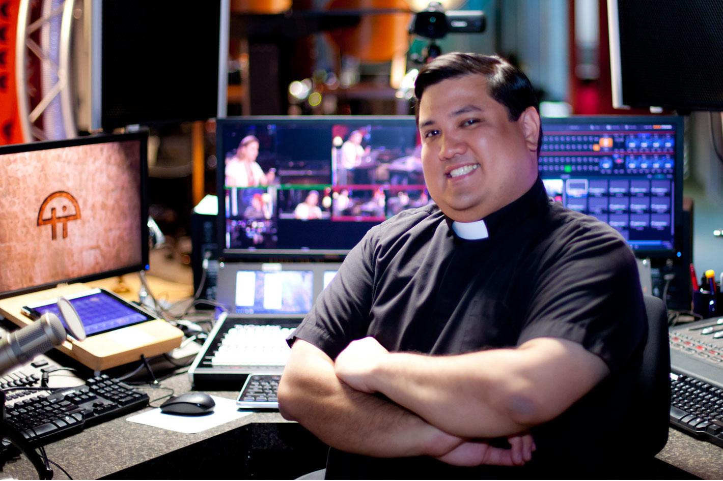 Catholic religious order streams with Blackmagic