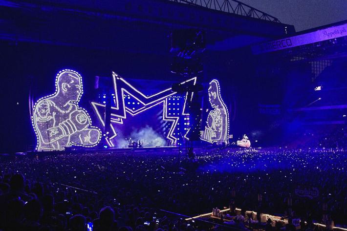Blackmagic preserves memories of Robbie Williams and George Michael