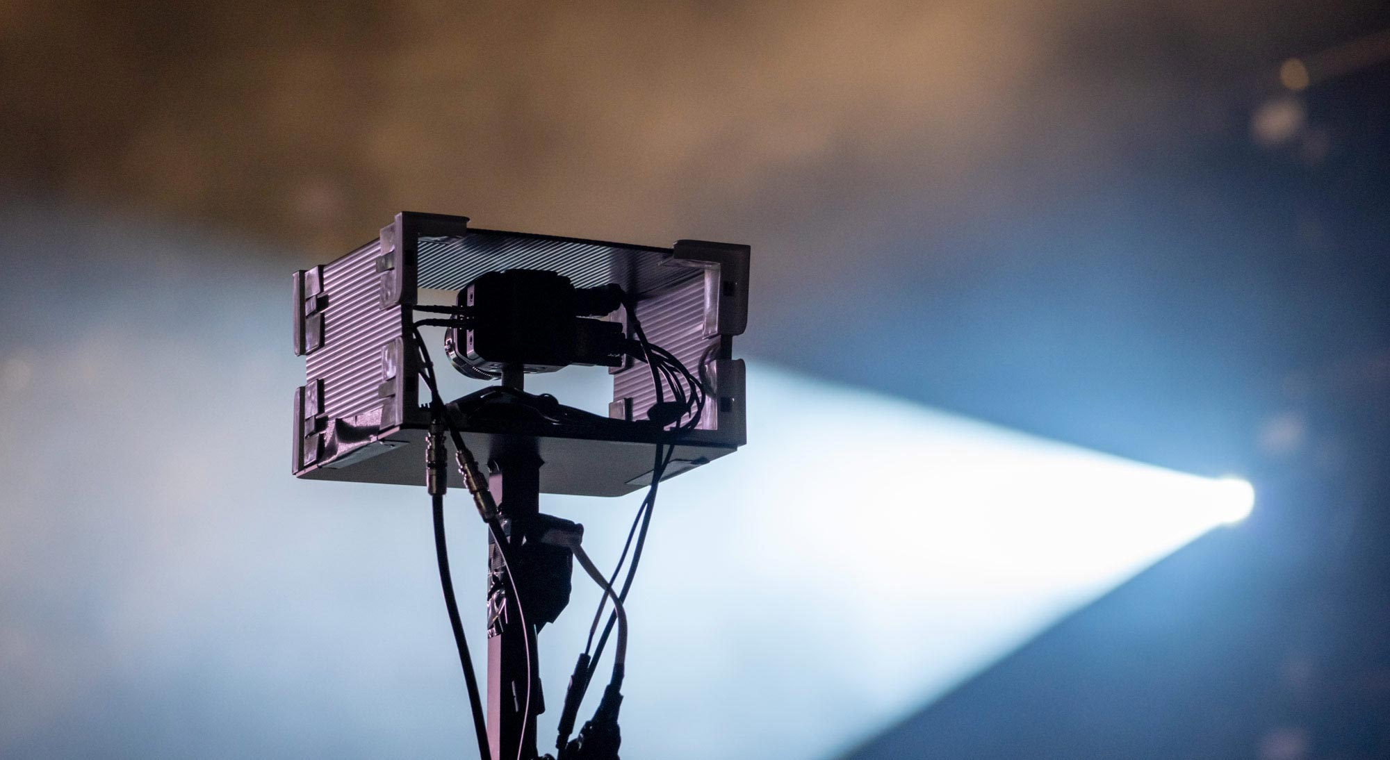 24 Blackmagic cameras used for a streamed concert