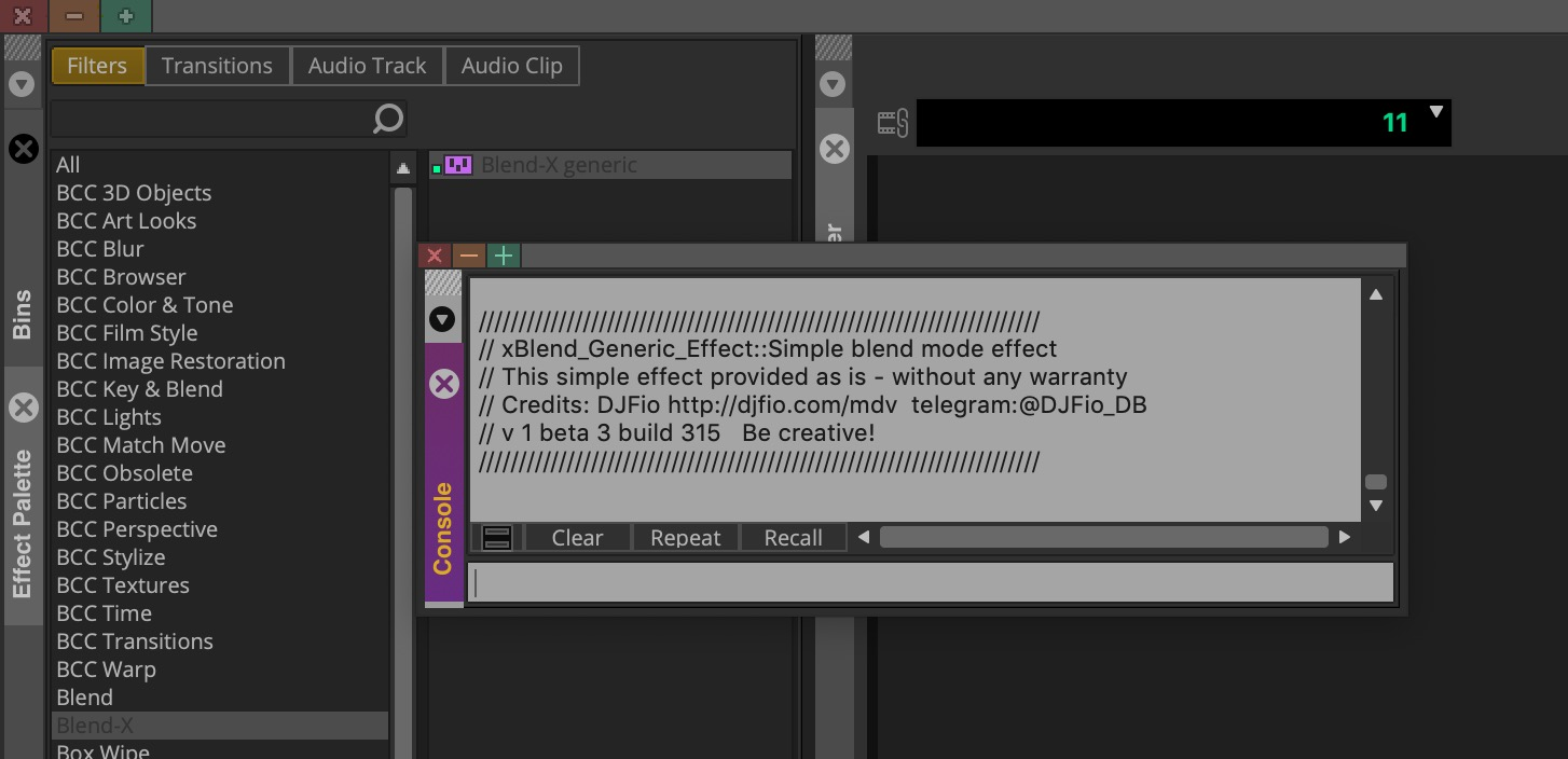 At last, easy Blend modes come to Avid Media Composer 7