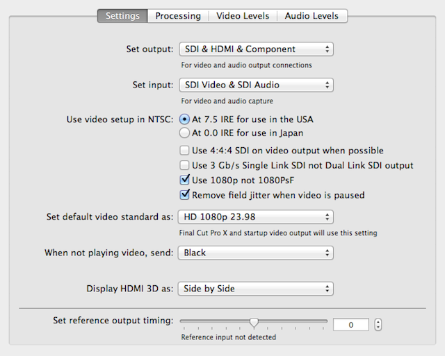 Comparing two Thunderbolt capture and playback devices 61