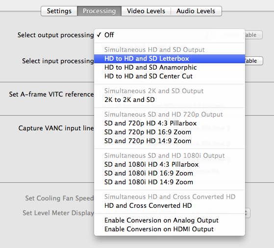 Comparing two Thunderbolt capture and playback devices 62