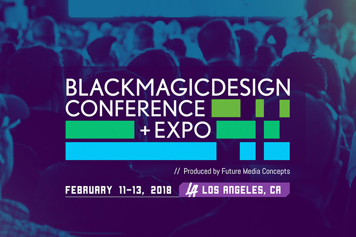 Blackmagic Design Conference & Expo in Los Angeles