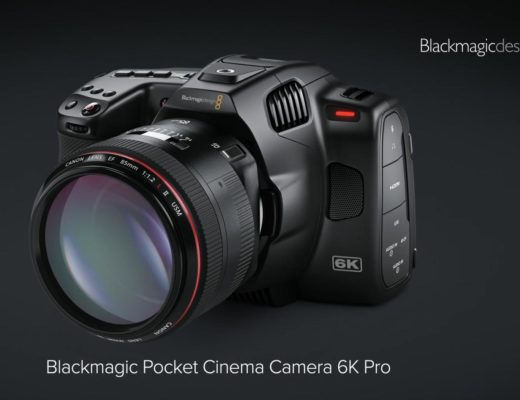 Blackmagic Design: new 6K Pro camera, ATEM and Web Presenter HD