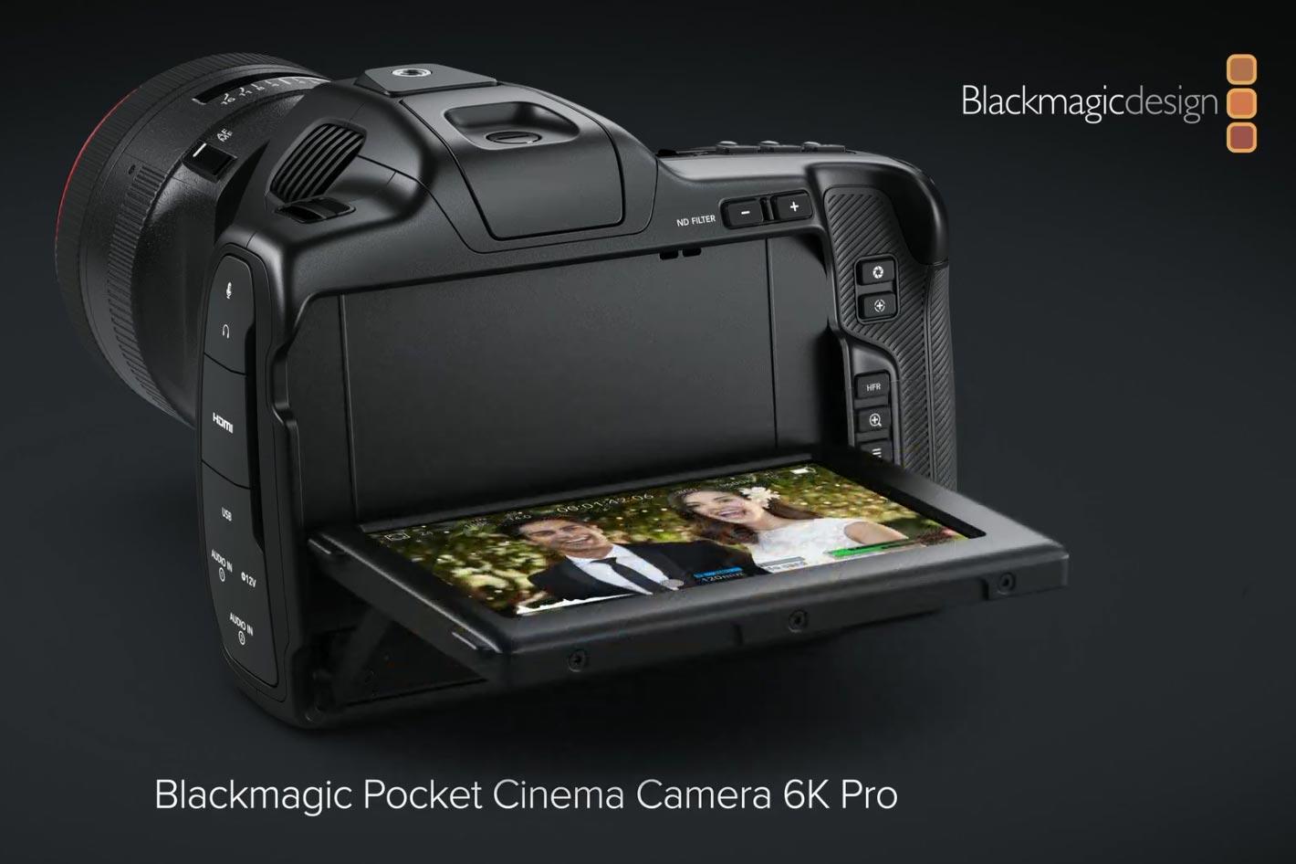 Blackmagic Design: new 6K Pro camera, ATEM and Web Presenter HD