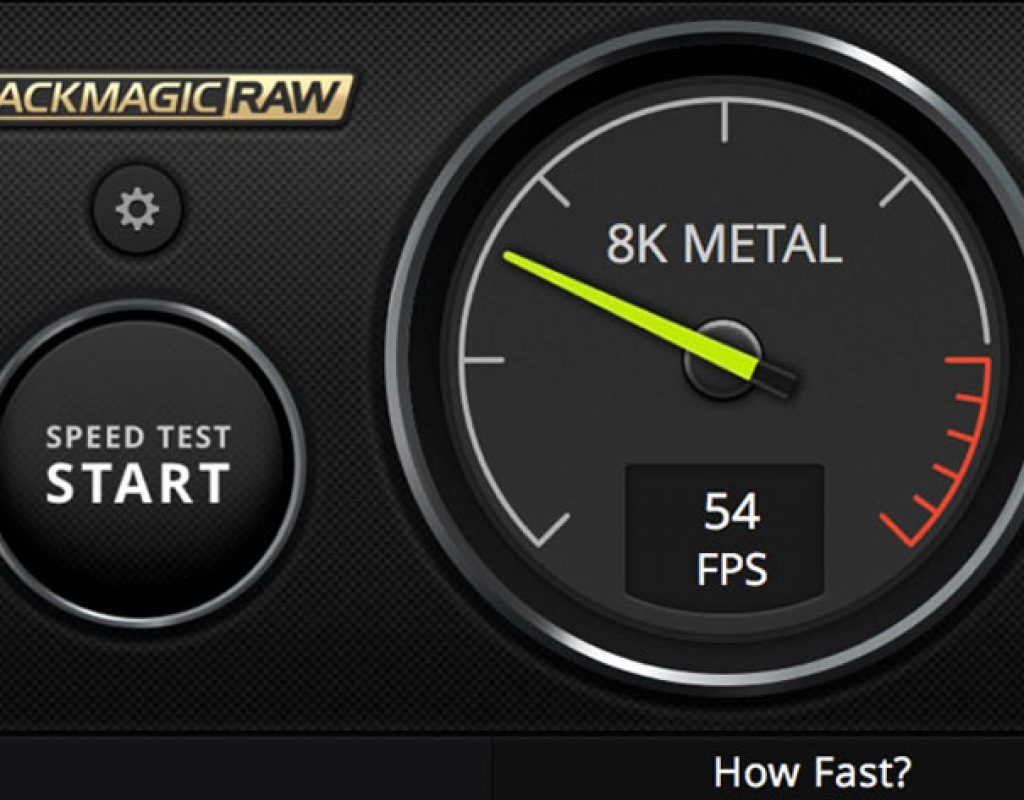 Blackmagic Raw Speed Test Benchmark Tool How Fast Is Your Mac By Jose Antunes Provideo Coalition