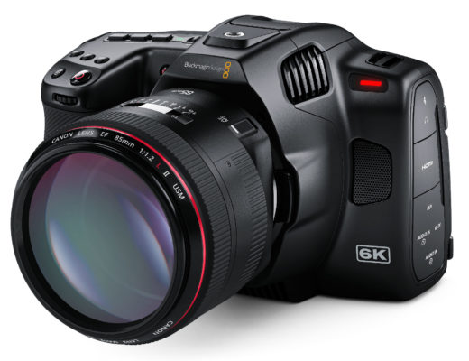 Blackmagic Pocket Cinema Camera 6K Pro product shot