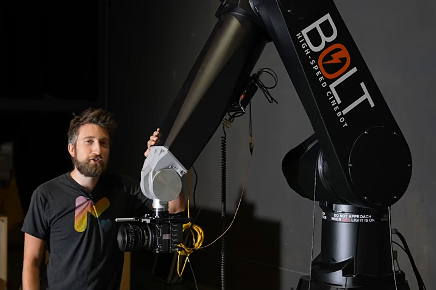 Slow Mo Guys get a Bolt high-speed motion control arm