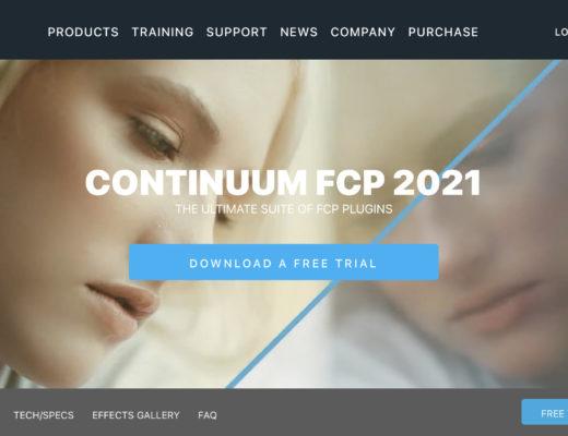 BorisFX Continuum 2021.5 for FCP 8