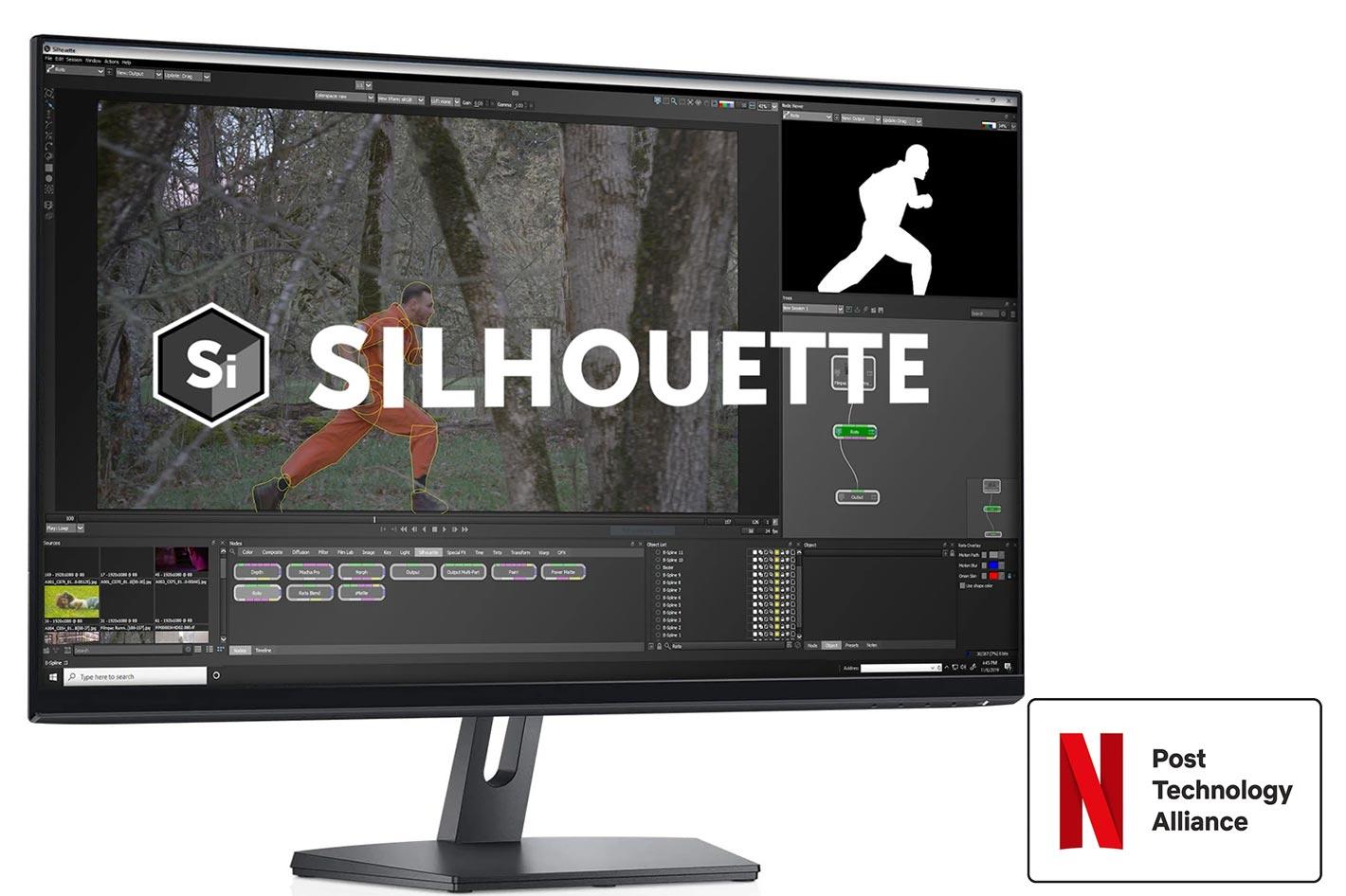 Boris FX Silhouette joins the Netflix Post Technology Alliance