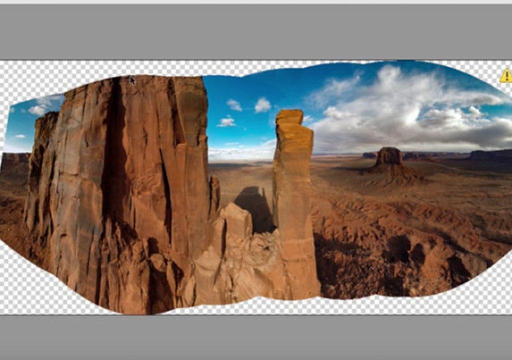 Boundary Warp, magic for panoramas 1